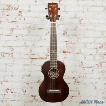 Gretsch G9110-L Concert Long-Neck Acoustic/Electric Ukulele - Vintage Mahogany Stain