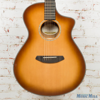 2018 Breedlove B-Stock Pursuit Exotic Concert Sitka-Ovangkol Copper CE w/Bag x6509