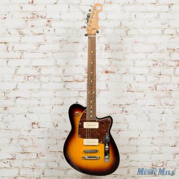 Reverend Charger 290 Electric Guitar 3-Tone Sunburst x7622