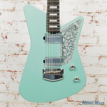 Ernie Ball Music Man Mariposa Electric Guitar Dorado Green x5099