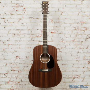 Martin D-10E Road Series - Natural Sapele x0463