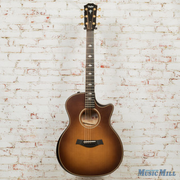 2019 Taylor 614ce Acoustic Electric Guitar Brown Sugar Stain with V-class Bracing x9088 (USED)