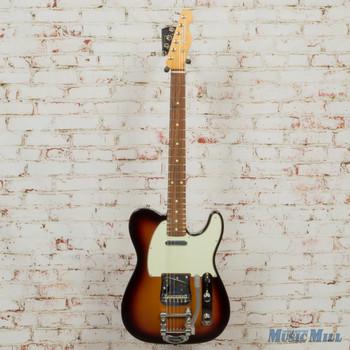 2019 Fender Vintera '60s Telecaster Bigsby, PF - 3-Color Sunburst DEMO mx19026409