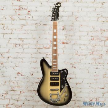Reverend Warhawk 390 Korina Burst Electric Guitar