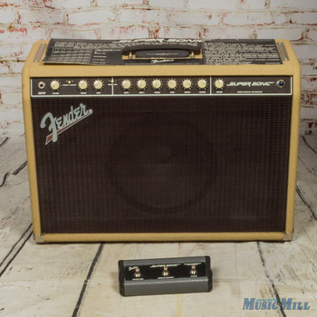 Fender Supersonic 60 1x12 Combo Amplifier Blonde (USED)