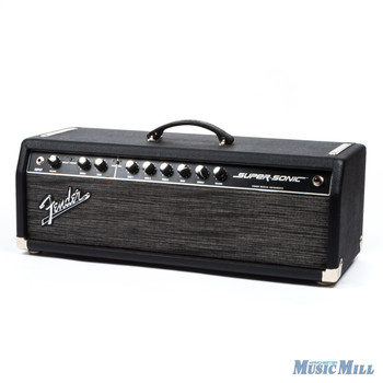 Fender Supersonic 60 Guitar Amplifier Head Black (USED)