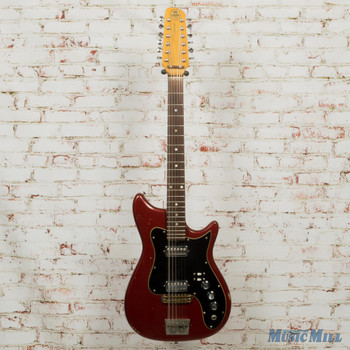 '60s Kapa Made In USA 12-String Electric Guitar Red (USED)