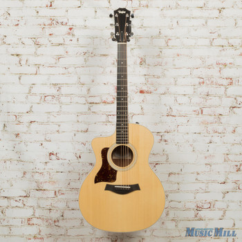 2019 Taylor 214ce Left-Handed Acoustic Electric Guitar Natural x9301