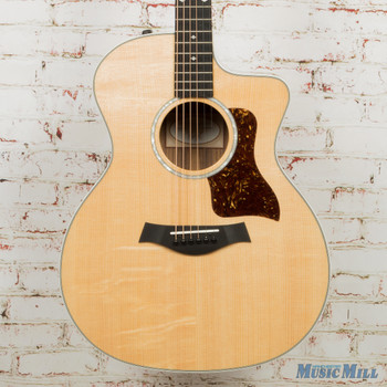 Taylor 214ce Deluxe - Natural Acoustic-Electric