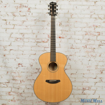 Breedlove B-Stock Oregon Concerto E Sitka-Myrtlewood Acoustic Electric Guitar Natural