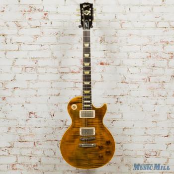 2003 Gibson Custom Shop Joe Perry Boneyard Les Paul Green Tiger VOS #32 (USED)