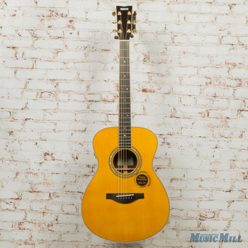 Yamaha LS-TA Concert Body Trans Acoustic Electric Guitar- Vintage Tint x0221