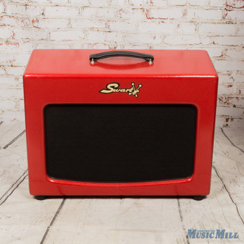 Swart Space Tone 1x12 Guitar Cab Sparkle Red (USED)