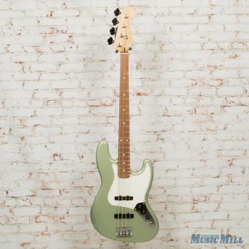 2019 Fender Player Jazz Bass Sage Green Metallic DEMO MX19007934