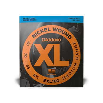 D'Addario XL Bass Strings 50-105 EXL160