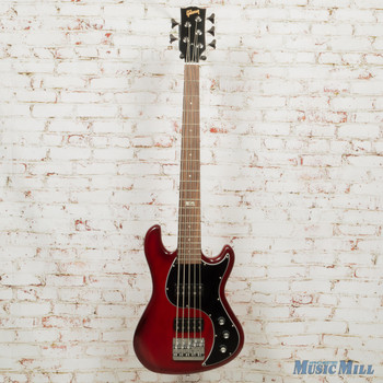 2014 Gibson EB 5-String Bass Electric Bass Brilliant Red Vintage Gloss x5502