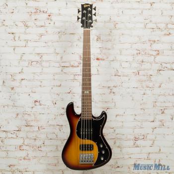 2014 Gibson EB Bass Guitar 5 String Fireburst x9742