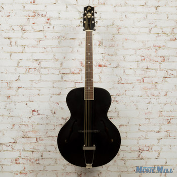 The Loar LH-300 Archtop Acoustic Guitar Black (USED)