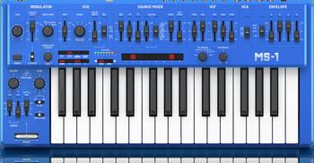 Behringer MS-1-BU Keyboard Blue