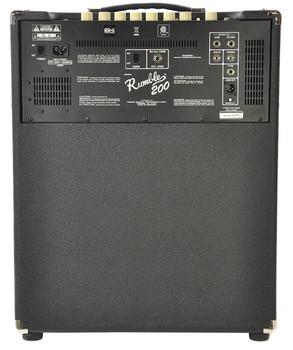 Fender Rumble 200 1x15 200W Bass Combo Amp DEMO ICTE19737660