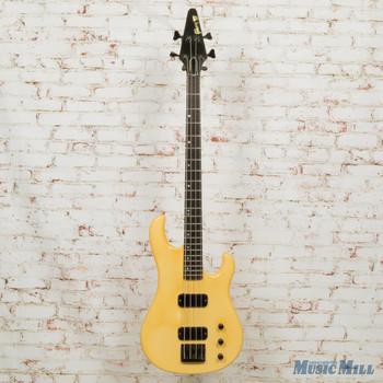 1987 Gibson Bass IV Cream- Headstock Repair - Cream - w/OHSC (USED)