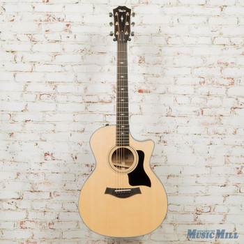 Taylor 314ce V‑Class Grand Auditorium Acoustic‑Electric Guitar Natural 9027