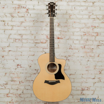Taylor 114ce - Layered Walnut Back and Sides Guitar 9443