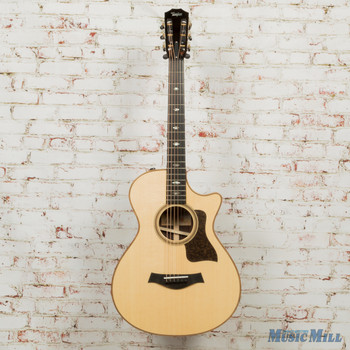 Taylor 712ce 12-Fret Grand Concert V-Class - Natural x9108