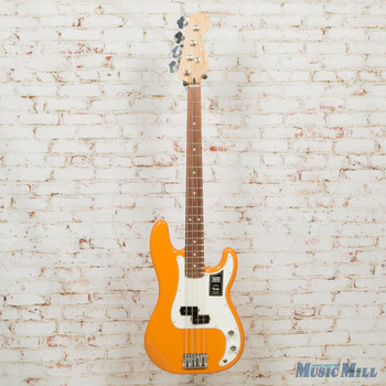 2019 Fender Player Precision Bass 4-String Electric Bass PF Fingerboard Capri Orange x1363