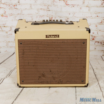 "Roland Blues Cube Hot 30-watt 1x12"" Combo Amp - Vintage Blonde (USED)"
