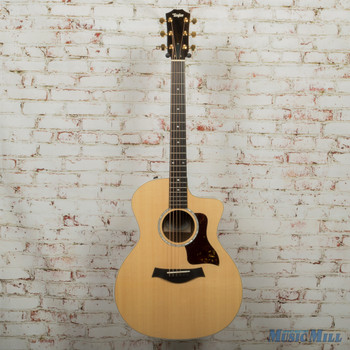 2019 Taylor 214CE Deluxe Fall Limited Acoustic Electric Guitar Natural