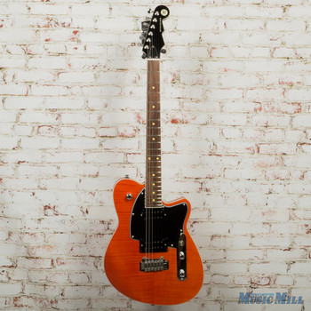 Reverend Reeves Gabrels Signature Electric Guitar Orange Flame Maple x8165