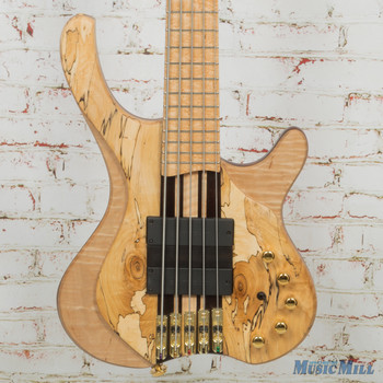 MG Bass Desert Spalted Maple 5-String Bass w/OHSC (USED)