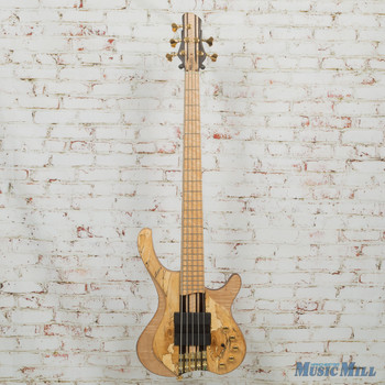 MG Bass Desert Spalted Maple 5-String Bass w/OHSC