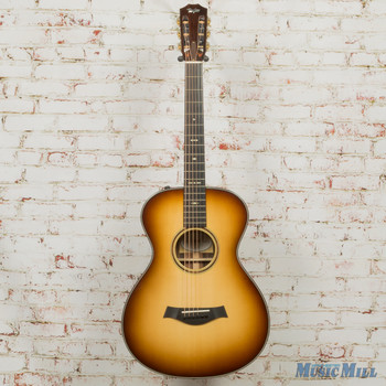 2015 Taylor Custom TF 12-Fret Acoustic Electric Guitar with Macassar Ebony Sunburst (USED)