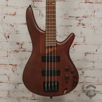 2019 Ibanez SR500E 4-String Electric Bass Brown Mahogany x3508
