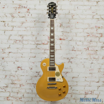 2019 Epiphone ENSMGCH1 Les Paul Standard Electric Guitar, Metallic Gold