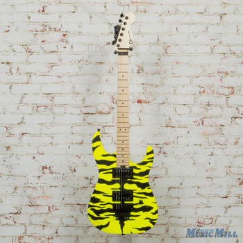 Charvel Pro-Mod DK Satchel Signature Guitar Yellow Bengal x1643