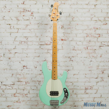 2016 Ernie Ball Music Man Stingray 3 EQ H Bass Mint Green w/OHSC (USED)