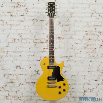 1993 Gibson Les Paul Special Electric Guitar TV Yellow P-100 (USED)