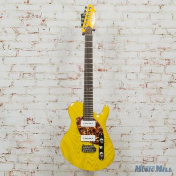 Malinoski Guitars Rodeo P90 Pickups Boutique Hand-built Guitar Yellow (USED)