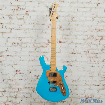 Malinoski Guitars Cosmic Blue Hand Built Electric Guitar (USED)