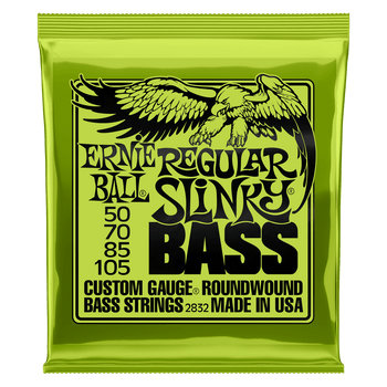 Ernie Ball 2832 Regular Slinky Bass Strings 50-105