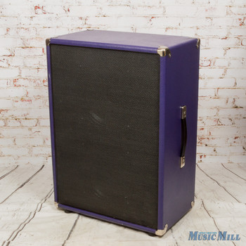 Unbranded 2x12 Cab w/ Celestion G12-65 Speakers Purple (USED)