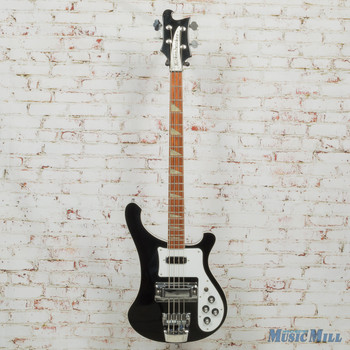 1996 Rickenbacker 4003 Jetglo Electric Bass Black x7128 (USED)