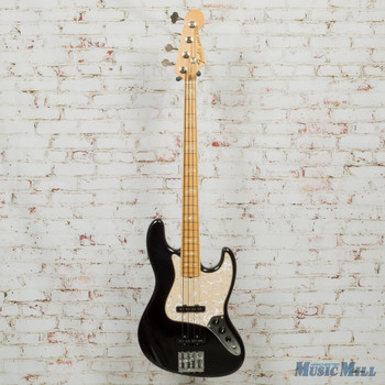 2016 Fender Geddy Lee Signature Jazz Bass Guitar Black with OHSC x6574 (USED)