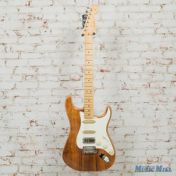 Fender Rarities '50s Flame Koa Top Stratocaster Electric Guitar Natural x9770