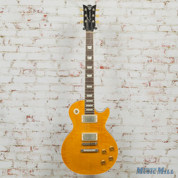 Corsa Guitars LCPG Single Cut Electric Guitar P107 Light Burst w/OHSC (USED)