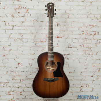 Taylor 327 Acoustic Guitar - V-Class - Shaded Edge Burst x9079