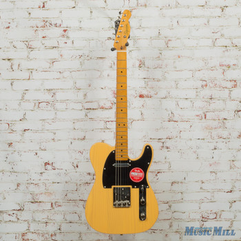 Squier Classic Vibe 50s Telecaster 6-String Electric Guitar Butterscotch Blonde CGRI19000506